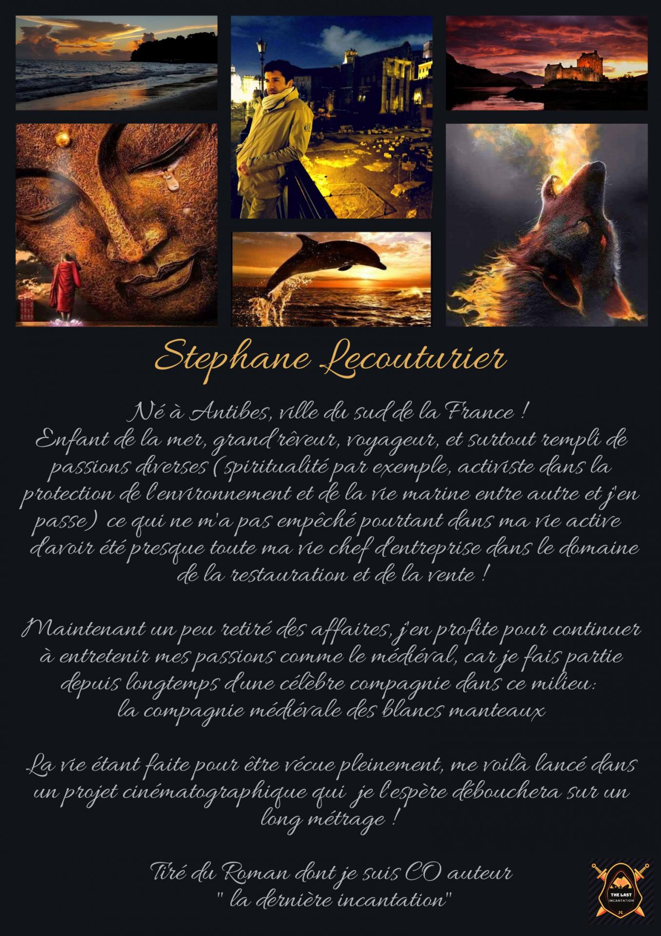 Stephane lecouturier the last incantation la derniere incantation fait par coralie laurens